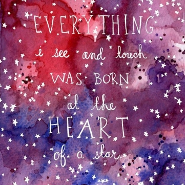 At the Heart of A Star Print - Uncovet - $30