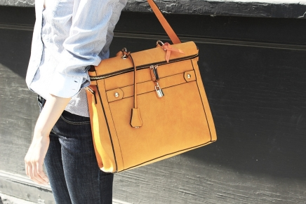 The Square Tote - Uncovet - $150