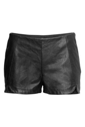 Short cuir H&M - 19 Euros