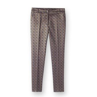Pantalon Jacquard métallisé La Redoute - 59 Euros